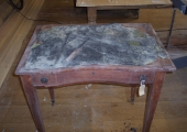 Architect table before restoration